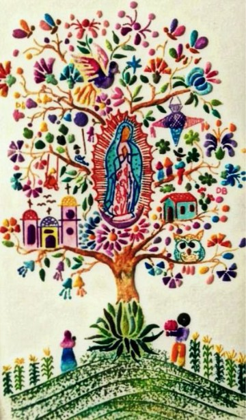 imagenes de nuestra señora de guadalupe para colorear