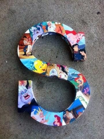 letras decoradas para imprimir infantiles