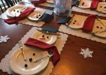 mesas decoradas para navidad sencillas y originales