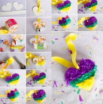 Piñatas Faciles De Hacer De Personajes De Carton