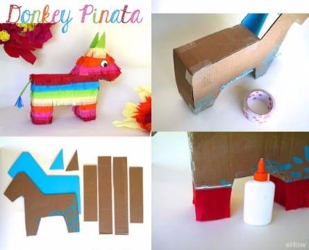 piñatas faciles de hacer para niños