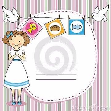 tarjetas de comunion para imprimir y personalizar