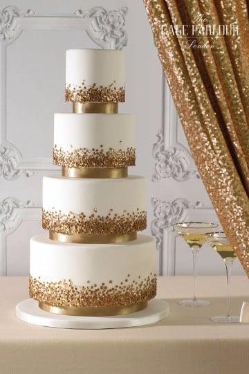 tortas de bodas de oro 50 años