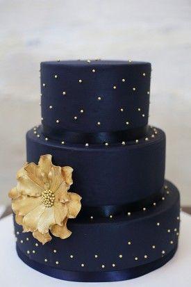tortas de bodas de oro aniversario
