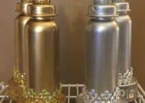Imagenes con ideas de botellas decoradas para baby shower