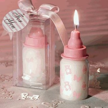 botellas decoradas para baby shower nacimiento