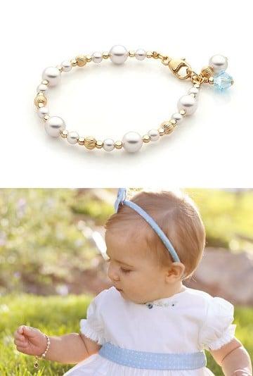 cadenas de oro para bebes bautizo