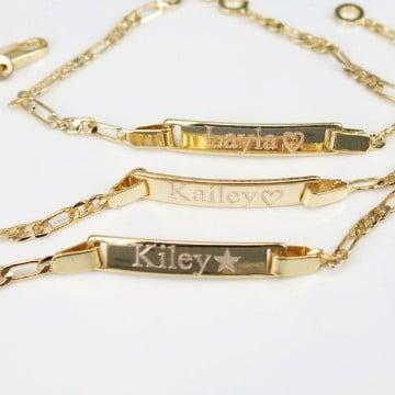cadenas de oro para bebes modelos