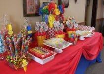 Ideas para centros de mesa de payasos para fiestas