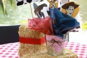 Ideas de centros de mesa de toy story para fiestas