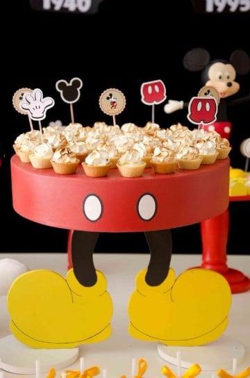 Decoraciones De Cumpleanos De Mickey Bebe Ideas Practicas