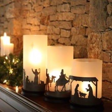 decoracion de nacimientos navideños para casas