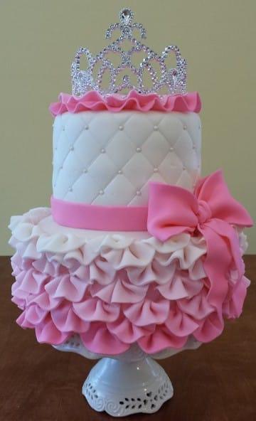 diseños de tortas infantiles para niña