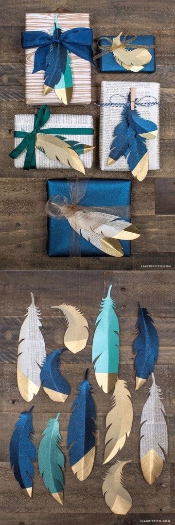 envolturas de regalos creativas para cumpleaños