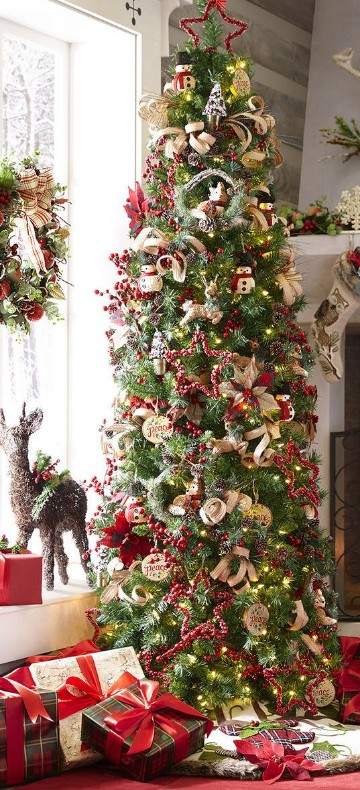 fotos de arbolitos de navidad decorados