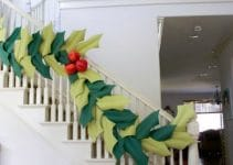 Ideas de como decorar con guirnaldas navideñas de papel