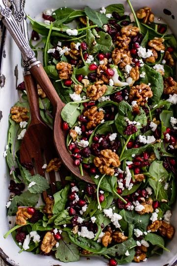ideas para cena de navidad con ensalada