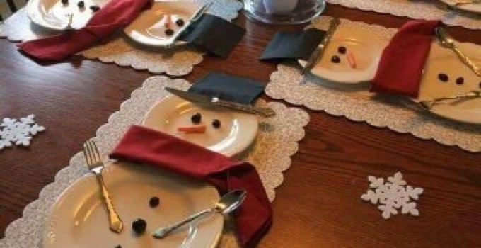 como decorar mi casa para navidad economicamente Centros de Mesa