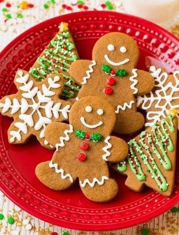 imagenes de galletas de jengibre navideñas
