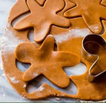 imagenes de galletas de jengibre para colorear