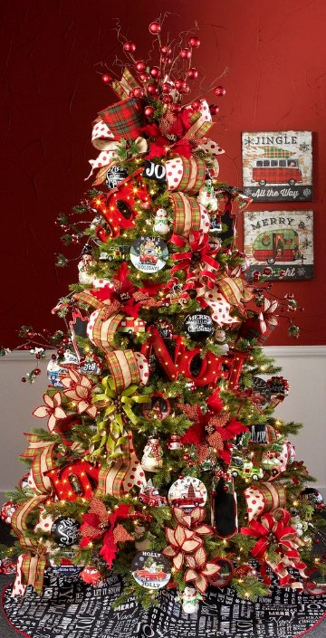 imagenes de pinos navideños modernos