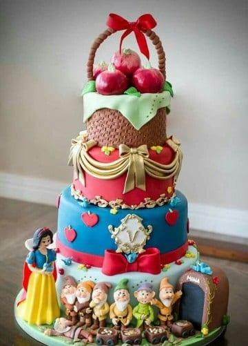 pasteles de fondant para niños cumpleaños