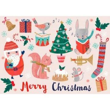 postales de navidad para imprimir para regalo