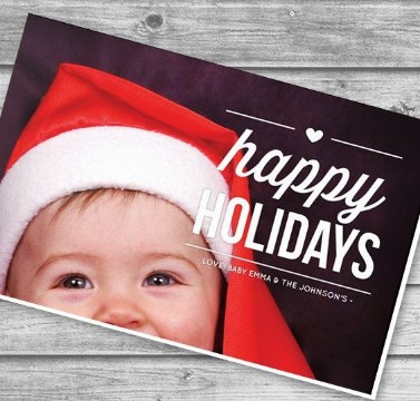 postales navideñas personalizadas fotos