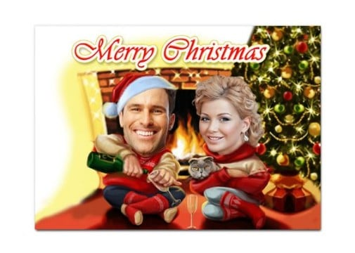 postales navide as personalizadas gratis para imprimir
