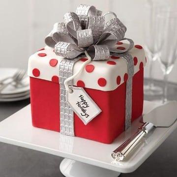 tortas decoradas de navidad decorados