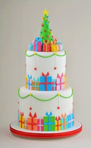 Ideas de como hacer tortas decoradas de navidad centros for Tortas decoradas faciles