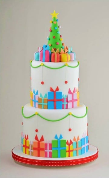 Ideas de como hacer tortas decoradas de navidad centros for Tortas decoradas sencillas