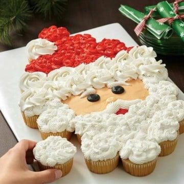 tortas decoradas de navidad pasteles