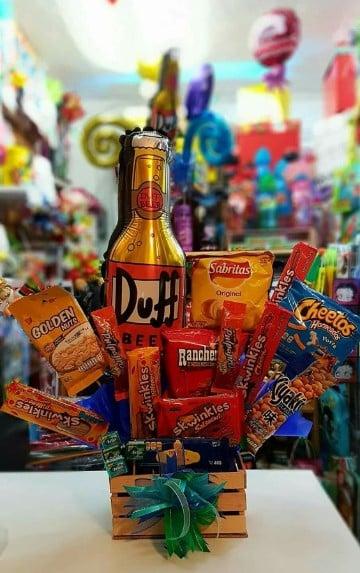 arreglos de dulces para hombres novio