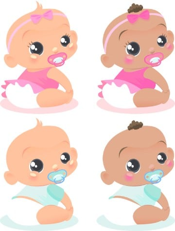 bebes para baby shower para imprimir