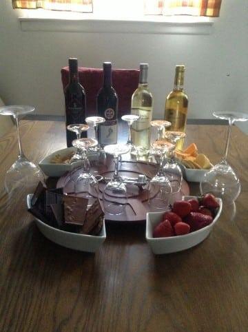 cenas romanticas en casa casera