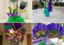 Imagenes con ideas para centros de mesa de carnaval