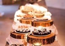 Recuerdos y centros de mesa de madera para 15 años faciles