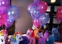 Imagenes con ideas de centros de mesa de my little pony