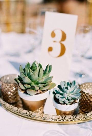 centros de mesa para boda 2017 estilos