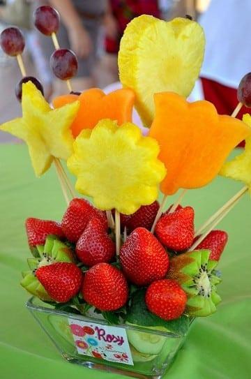 Ideas de centros de mesa para presentacion faciles de for Centros de frutas