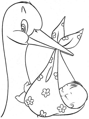 Imagenes Para Decorar Con Cigueñas Para Baby Shower