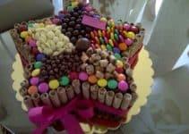 Ideas para hacer una decoracion de tortas con golosinas