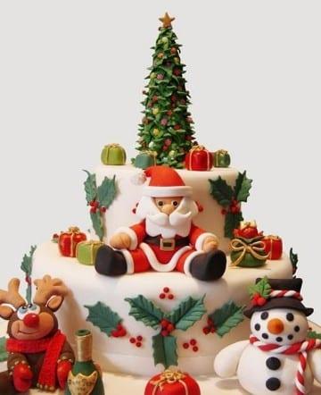 decoraciones de tortas sencillas de cumpleaños