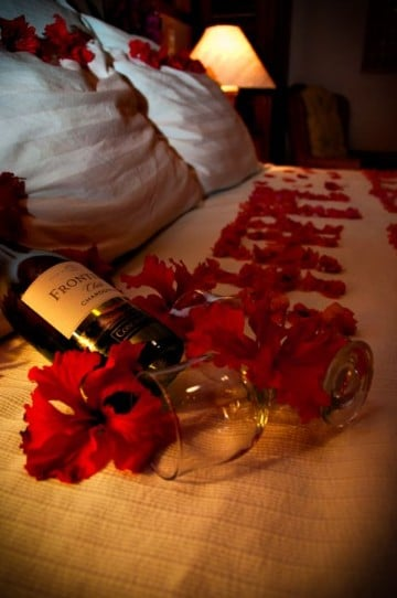 ideas para una noche romantica de pasion
