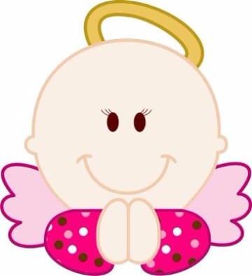imagenes de angelitos para bautizo de niña