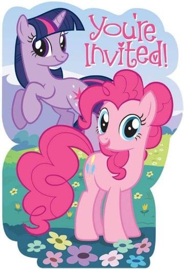 invitaciones de my little pony originales