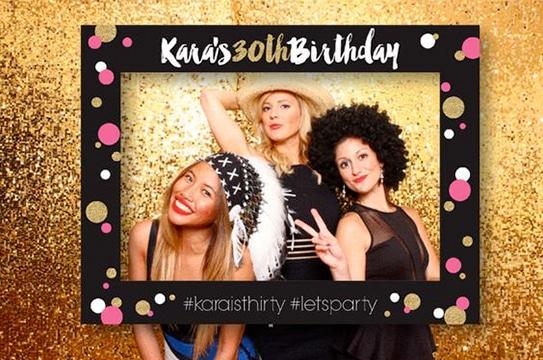marcos para sacarse fotos en cumpleaños