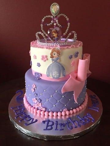 pasteles de la princesa sofia disney