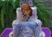 Imagenes de pasteles de la princesita sofia bonitos diseños